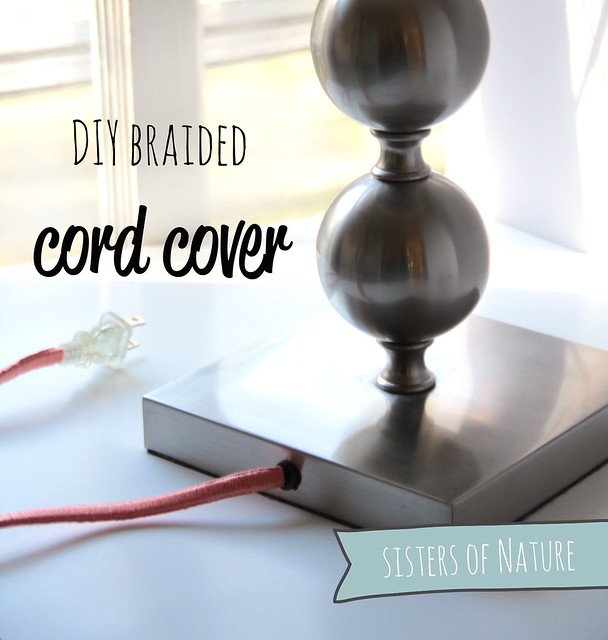 fabric paper glue guest post try this braided cord cover by sisters of nature. Black Bedroom Furniture Sets. Home Design Ideas