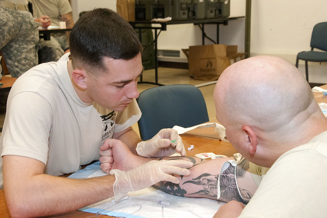 U.S. Army Africa personnel prepare for medical emergencies