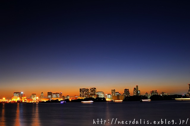 Tokyo Bay...