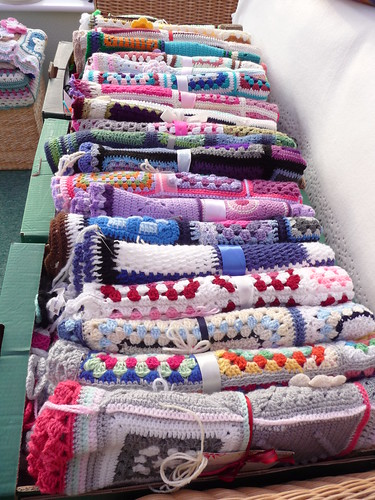 20 Blankets ready for Greville House Care Home, Sutton Coldfield.