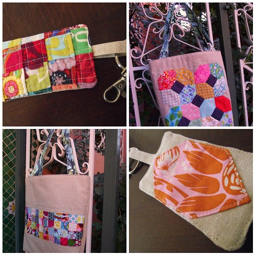 Mouthy Stitches' Tote & Fob - Ready to Ship!