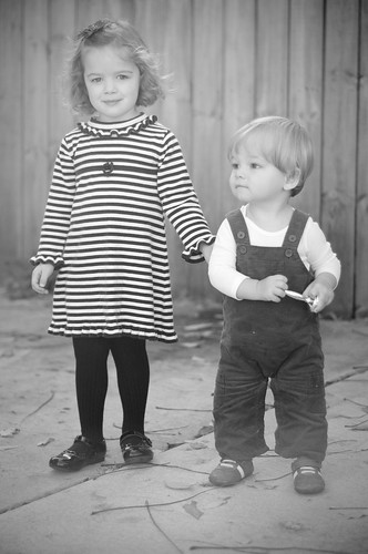 Old timey kids