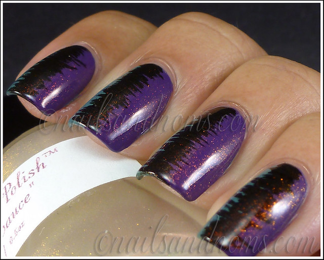 31DC2012 Day 6 Violet Nails - 6
