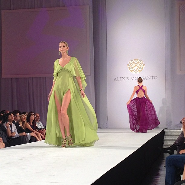 @AlexisMonsanto best collection I have seen all week! @StyleFW #laFW @theLaFashion