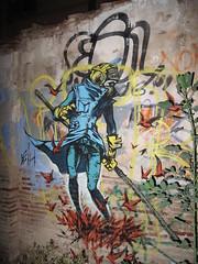 Valencia graffiti and street art