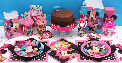 Decoración de Minnie Mouse para Fiestas Infantiles | Blogicasa ...