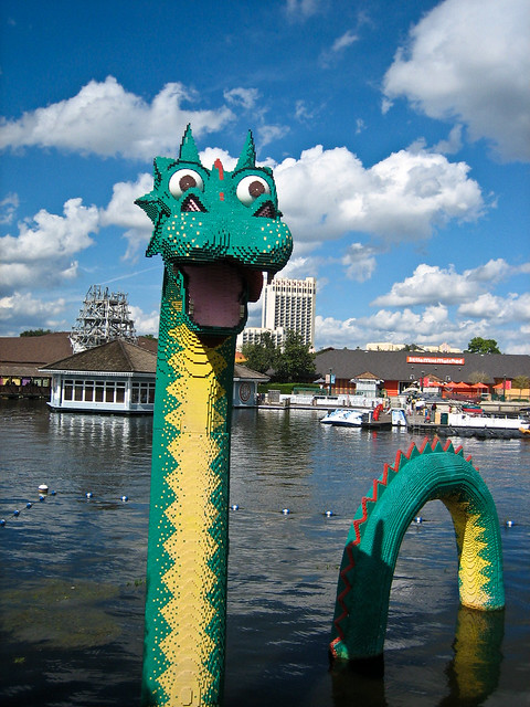 LEGO Lochness Monster