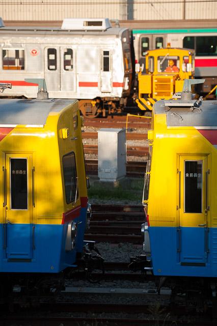 東急電鉄7600系 7601F 入場回送