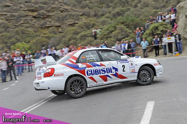 """""""Juan Angel Ruiz, Rallye costa de Almería 2012"""""""