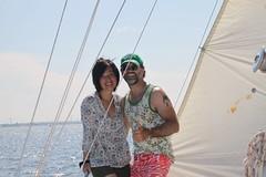yacht cruising in NY