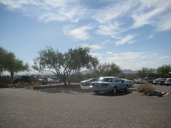 Parking Lot at Taliesin West