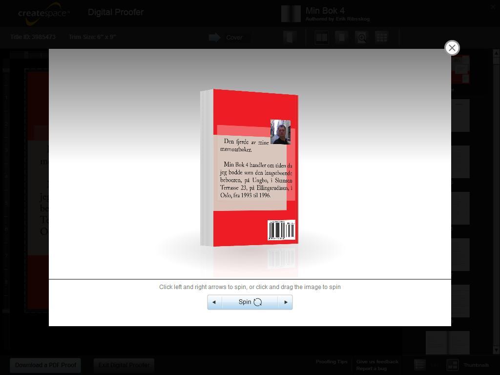 min bok 4 klar til salg bakfra
