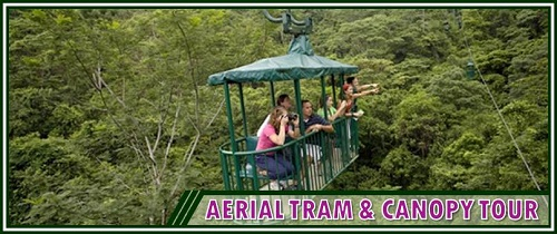 Aerial Tram in Costa Rica Pacific