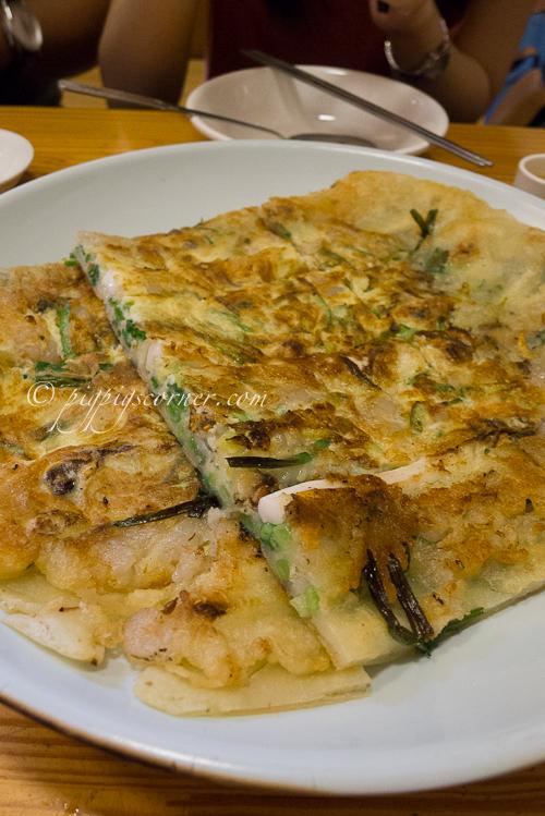 Tosokchon Samgyetang, 토속촌 土俗村参鸡汤 pancake