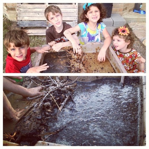 The kids are proud of their beaver dam! #paddletothesea