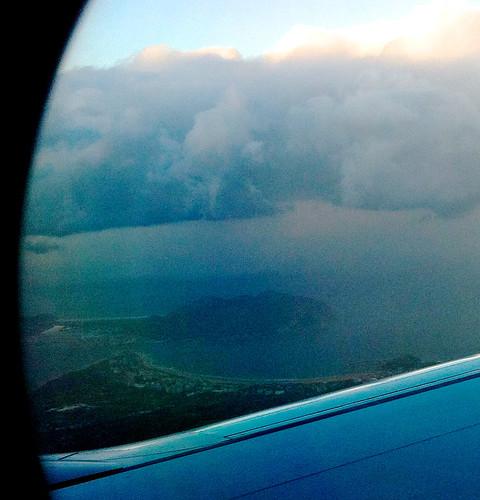Flying over Laredo