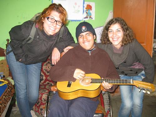 Con José Luis e Simona