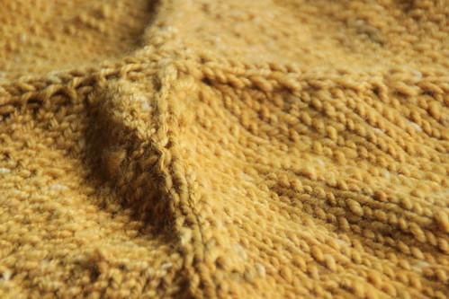 wip: baby blanket.