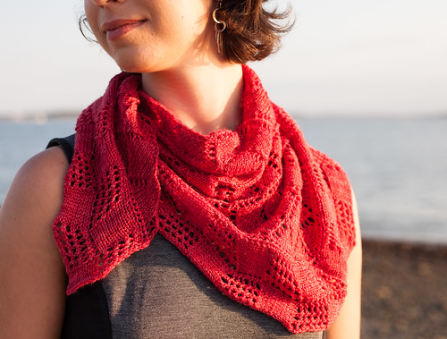 Crux Shawl by Michelle Miller