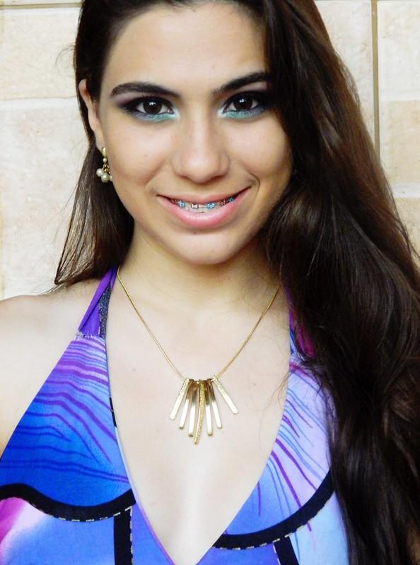 Juliana Leite make up maquiagem roxa preta verde degrade concavo 016