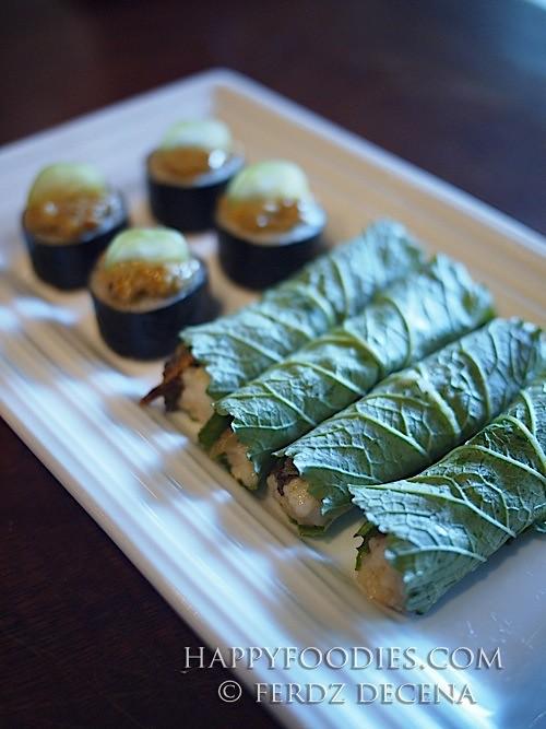 Bale Dutung Hito at Balo-Balo Sushi