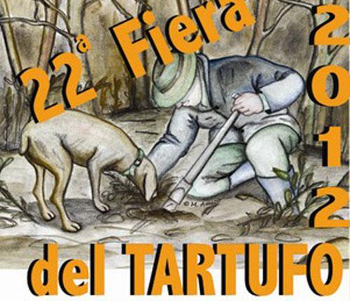Manifesto della fiera del tartufo di Castelnuovo Don Bosco