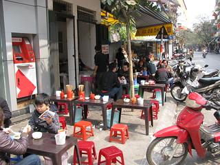 Pho Restaurant, Hanoi, Vietnam