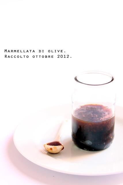 marmellata di olive
