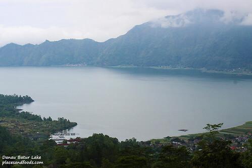 Danau Batur Lake Overview