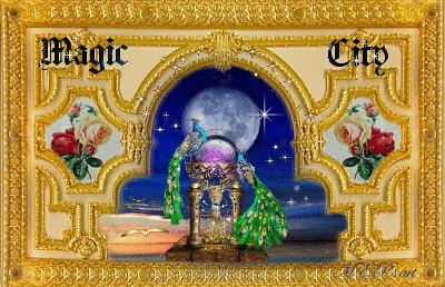 The magic peacocks in the Magic City