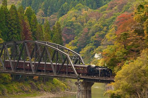 sl c11 福島 蒸気機関車 ローカル線 只見線 sl奥会津号