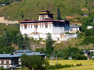 Paro valley Dzong