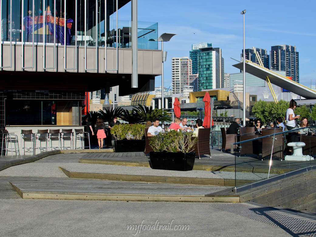 WTC Wharf, Melbourne - Outside Byblos