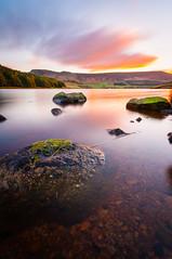 Dove Stone Reservoir Sunset