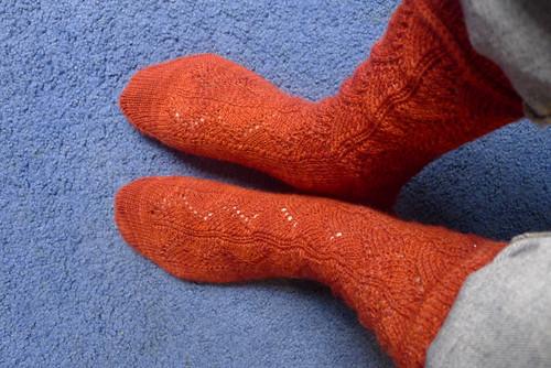 Molly Wesley socks