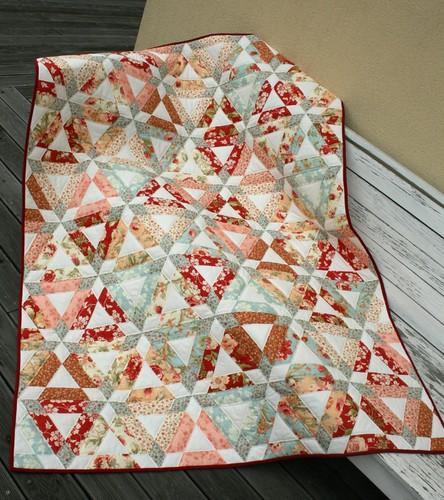 Hopscotch quilt 1