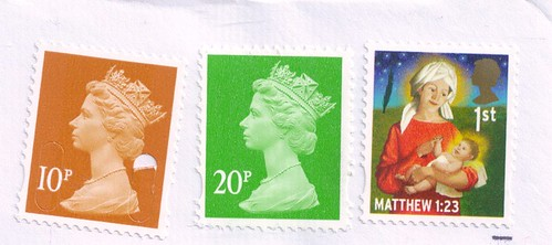 England Postage Stamps