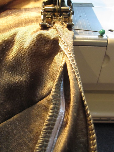 Stitching Waist Binding