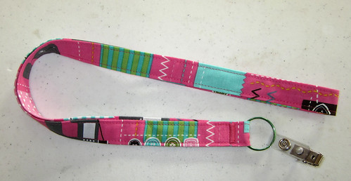 finished lanyard