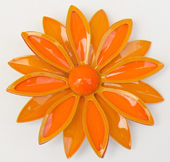 Vintage Flower Enamel Pin