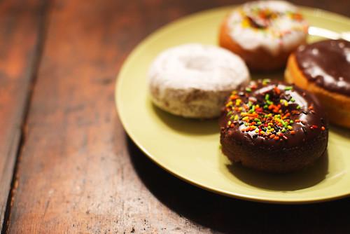 Halloween donuts.