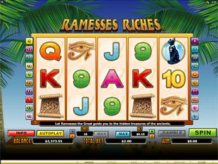 Ramesses Riches Slot Machine