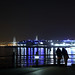 真冬の湾岸夜景