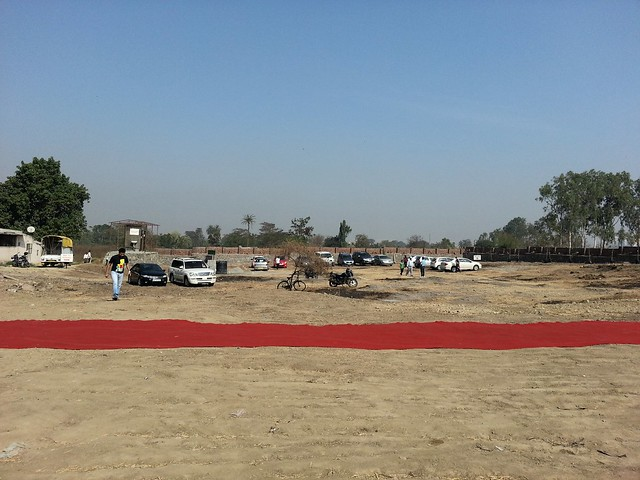 "Bhoomi Poojan of Sanjeevani Parth Developers' ""Davabindu"" at Sus Gaon, Pune"