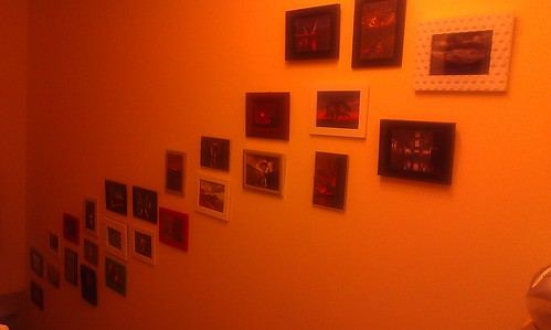 The photo wall is growing. I think it is alive by xxx zos xxx