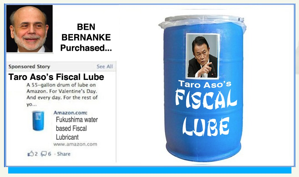 SPONSORED AD: TARO ASO'S FISCAL LUBE