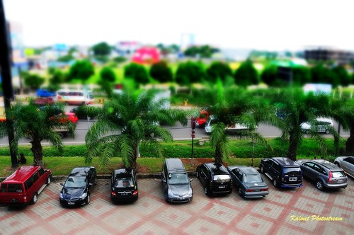 Tilt Shift - Parkir