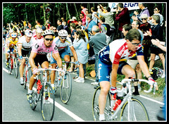 Lance Armstrong - Tour de France 1994 ( UK stage )