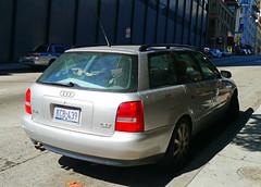 automobile(1.0), automotive exterior(1.0), audi(1.0), family car(1.0), wheel(1.0), vehicle(1.0), audi rs 4(1.0), mid-size car(1.0), audi a4(1.0), compact car(1.0), bumper(1.0), sedan(1.0), land vehicle(1.0), luxury vehicle(1.0), vehicle registration plate(1.0),