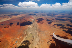 Gliding, Kiripotib,  Namibia 2012/3